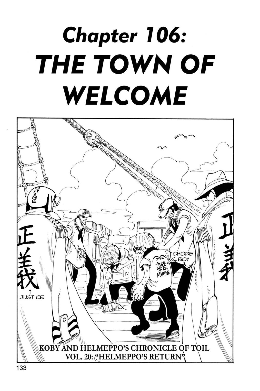 One Piece, Chapter 106 image 001