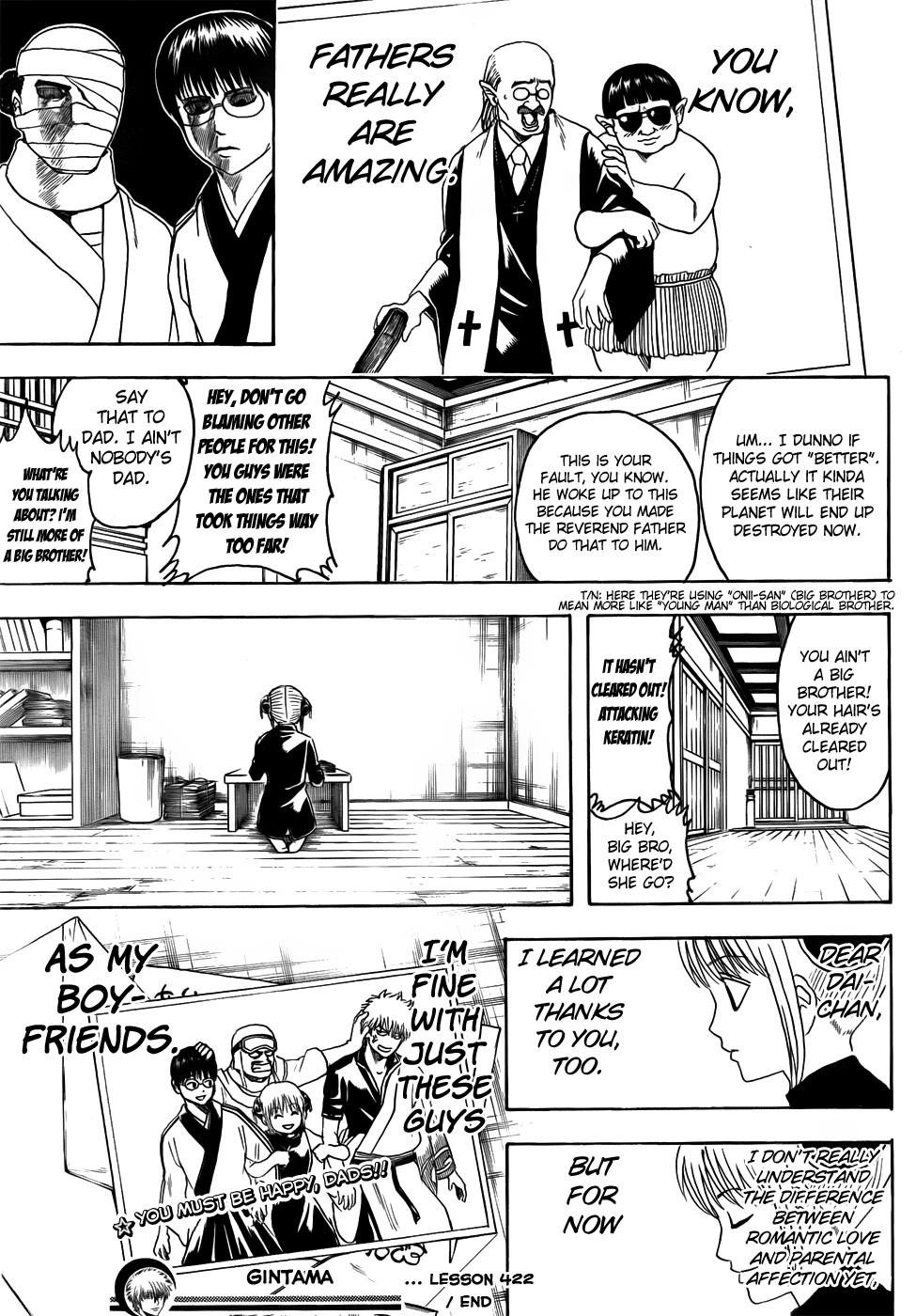Gintama Chapter, 422 image 019