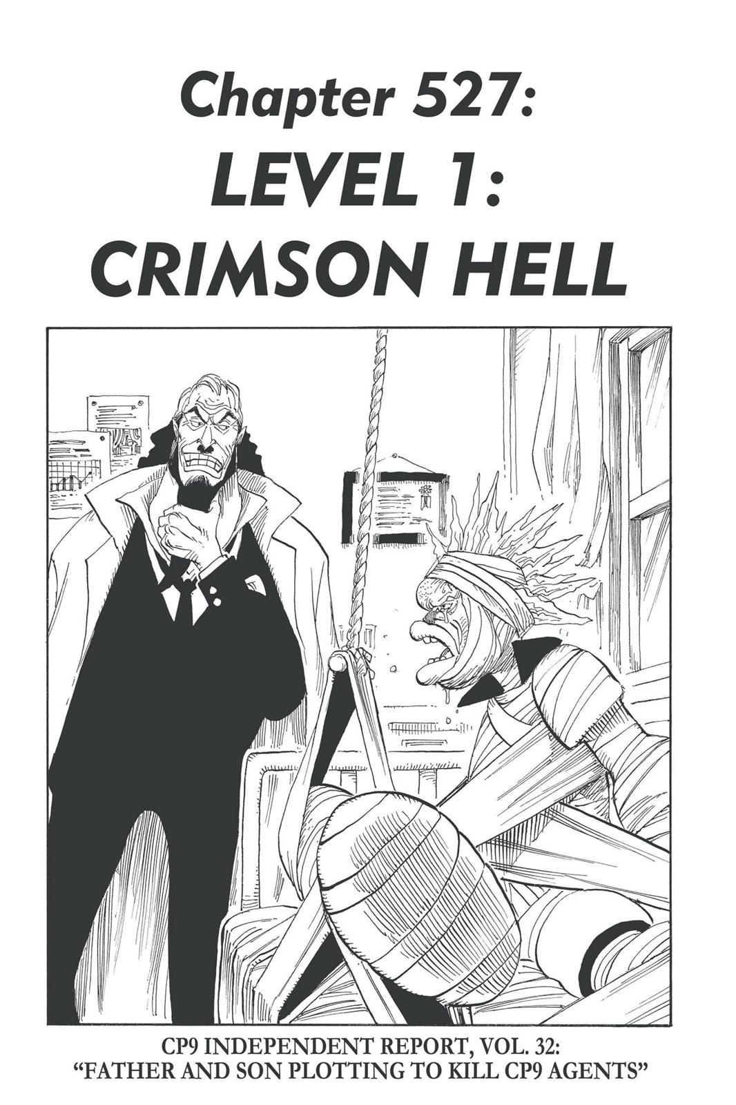 One Piece, Chapter 527 image 001