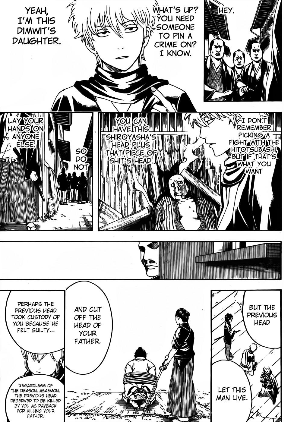 Gintama Chapter, 467 image 009