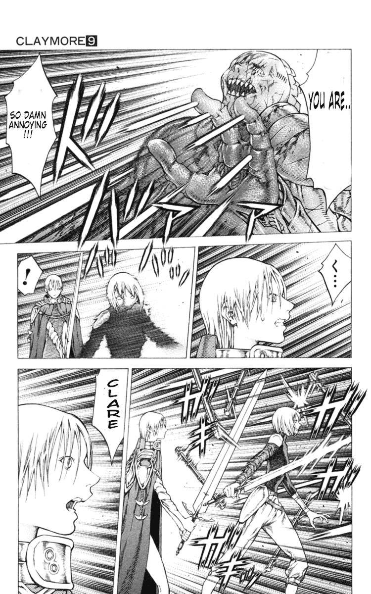 Claymore, Chapter 48 image 011