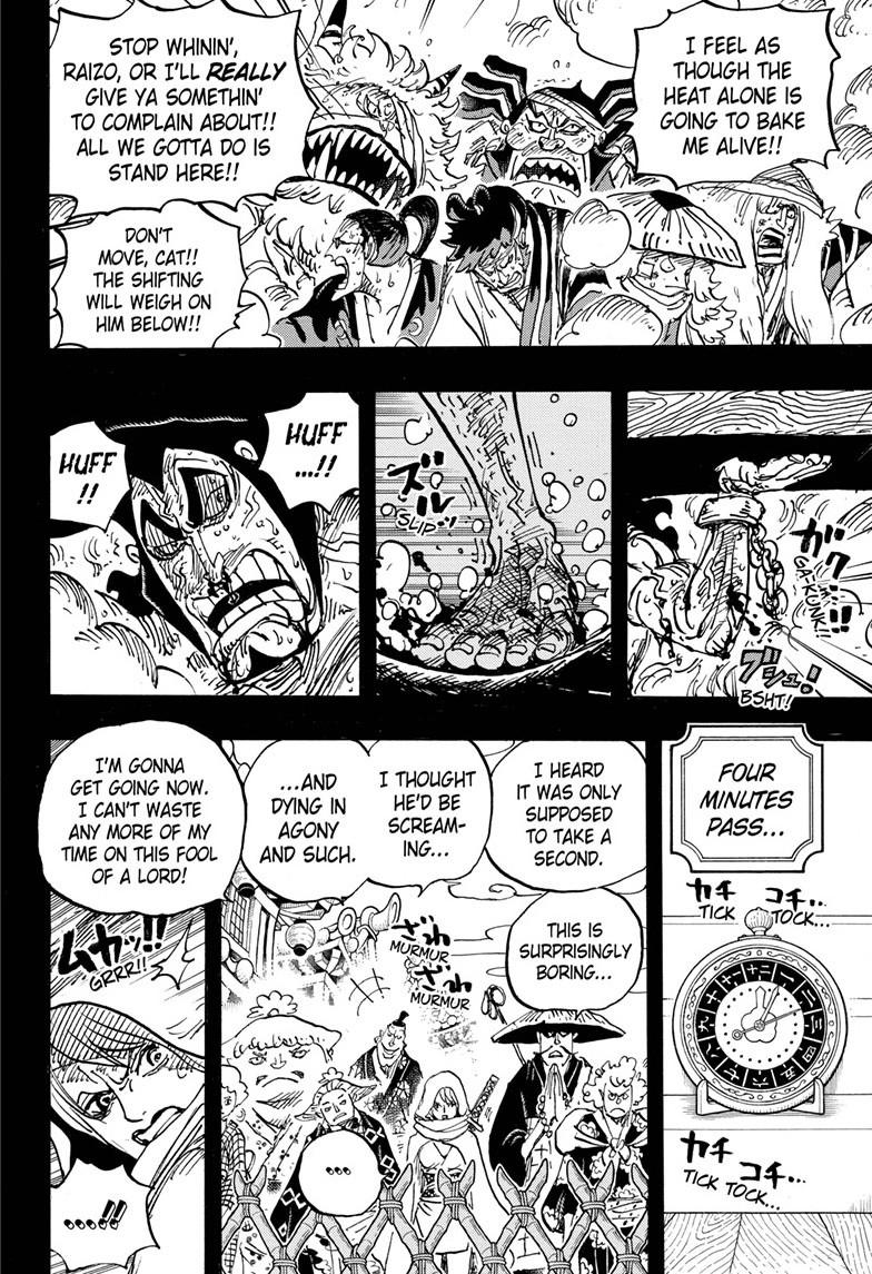 One Piece, Chapter 971 image 011