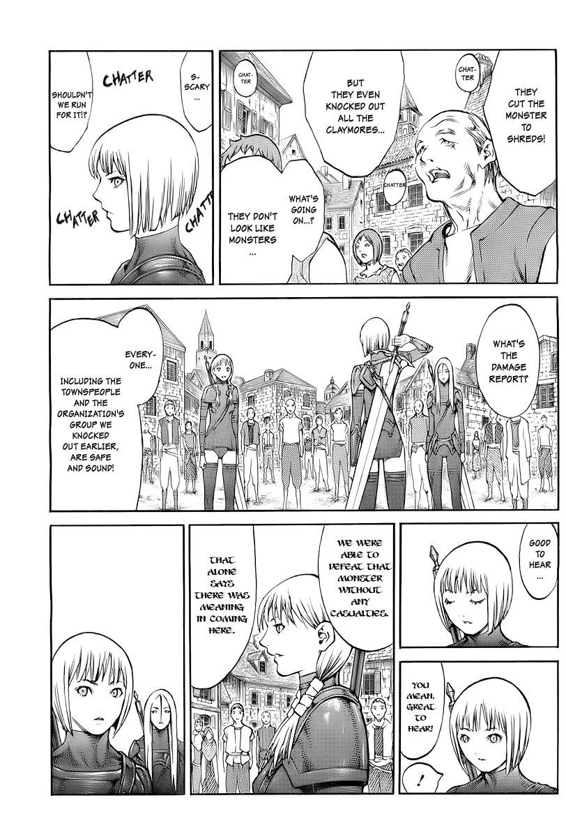 Claymore, Chapter 83 image 028