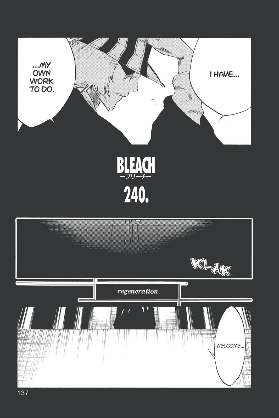 Bleach, Chapter 240 image 007