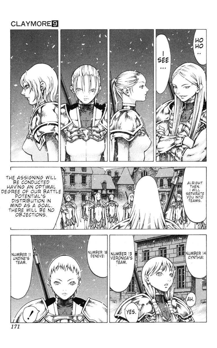 Claymore, Chapter 51 image 013