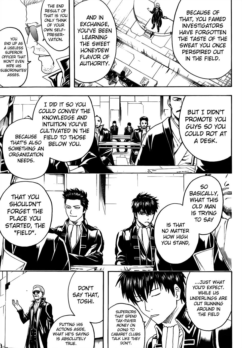 Gintama Chapter, 435 image 003