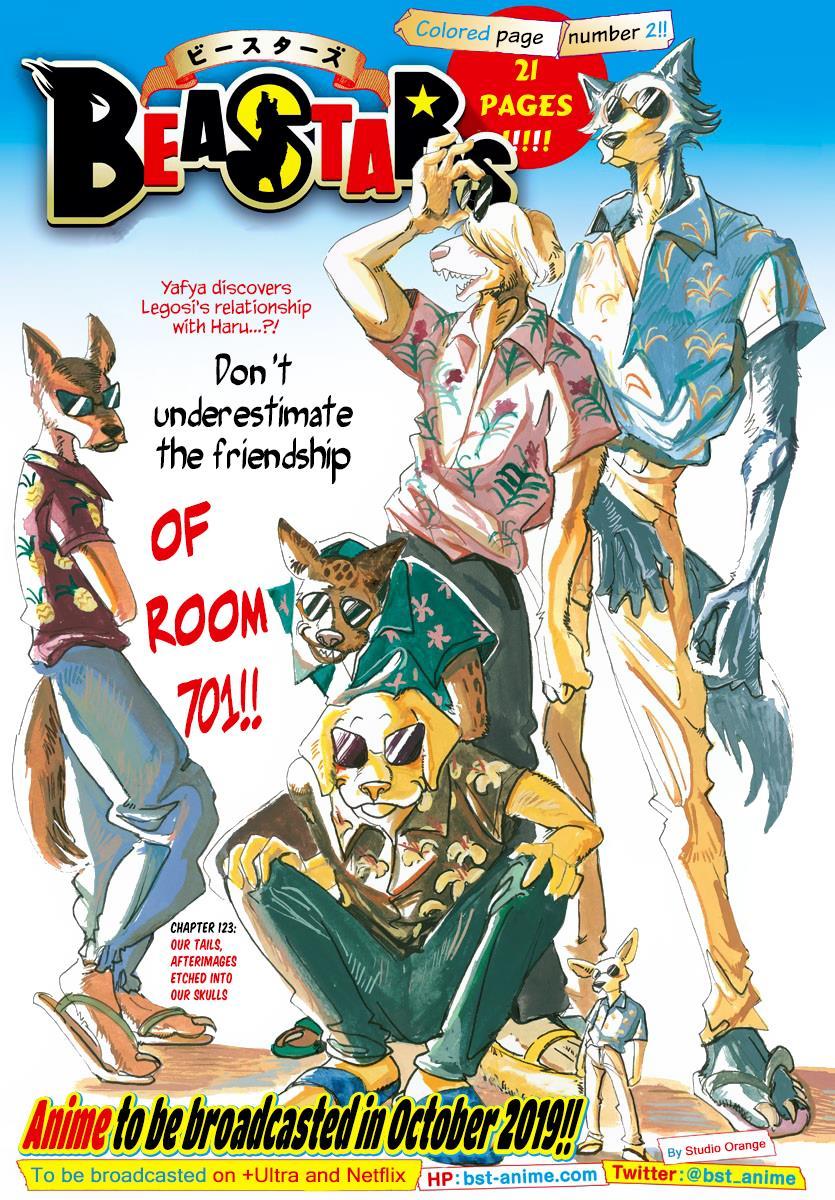 Beastars Manga, Chapter 123 image 001