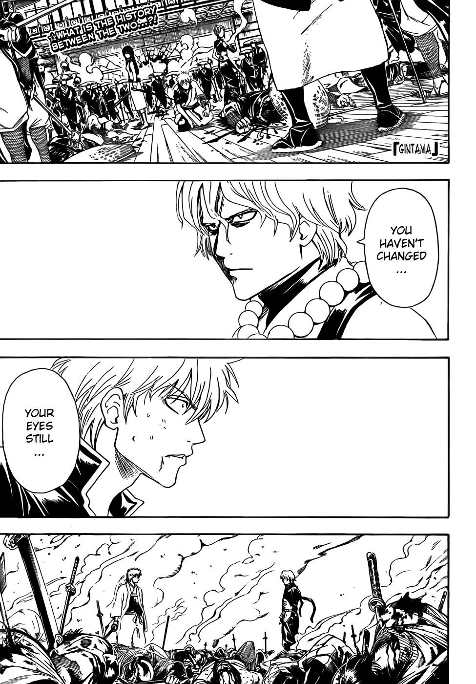 Gintama Chapter, 393 image 001