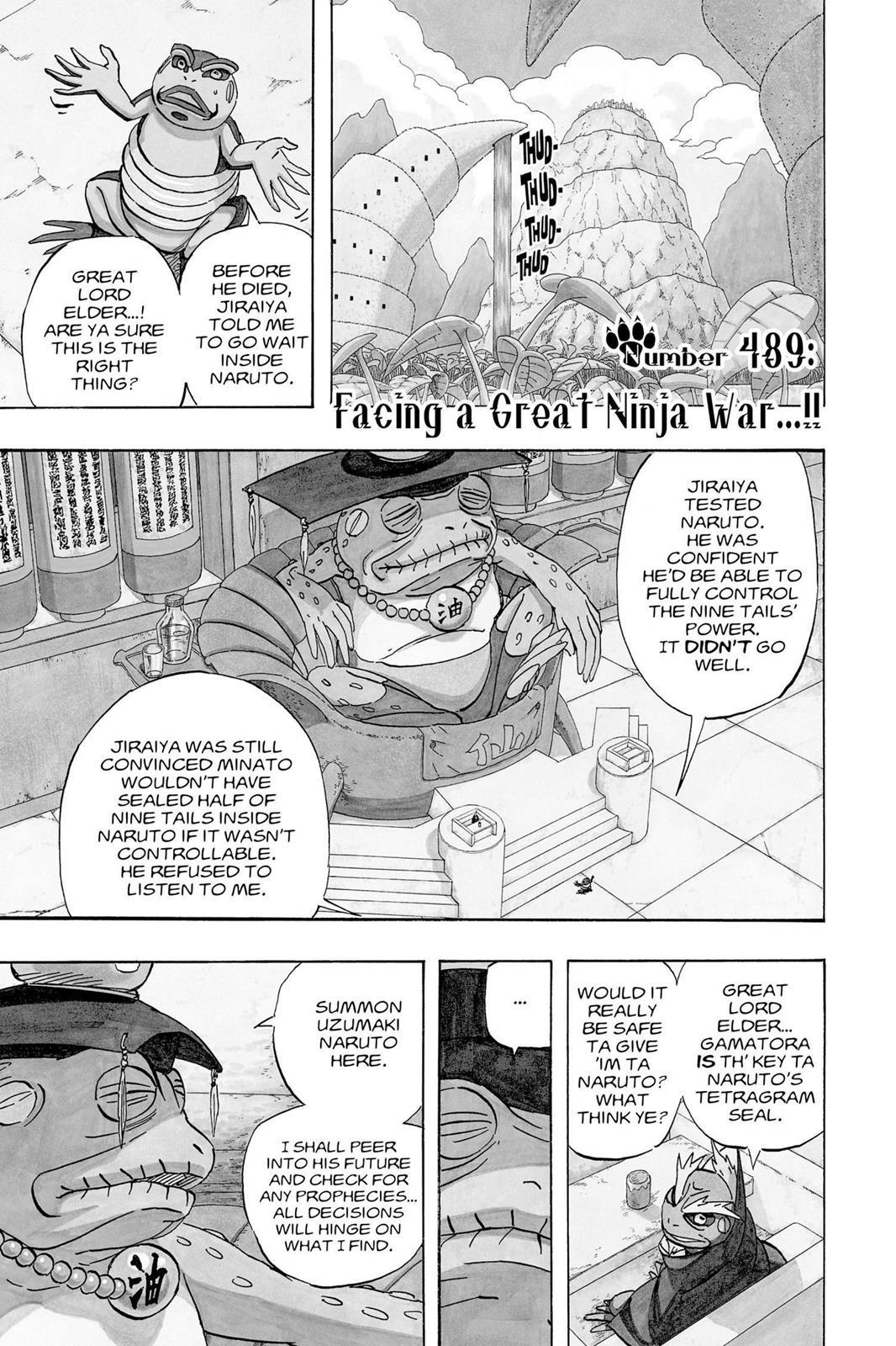 Naruto, Chapter 489 image 001